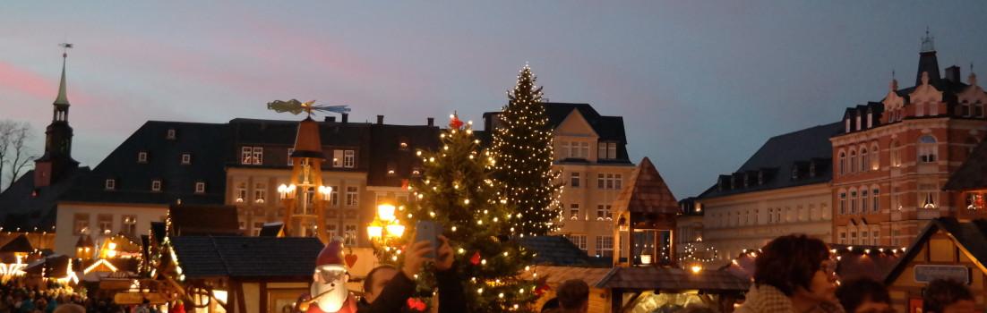 Annaberger Weihnachtsmarkt 2015 im Erzgebirge