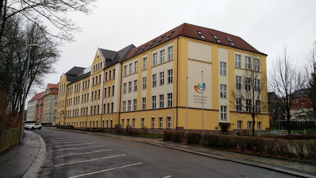 Früher EOS - Heute Gymnasium in Mittweida